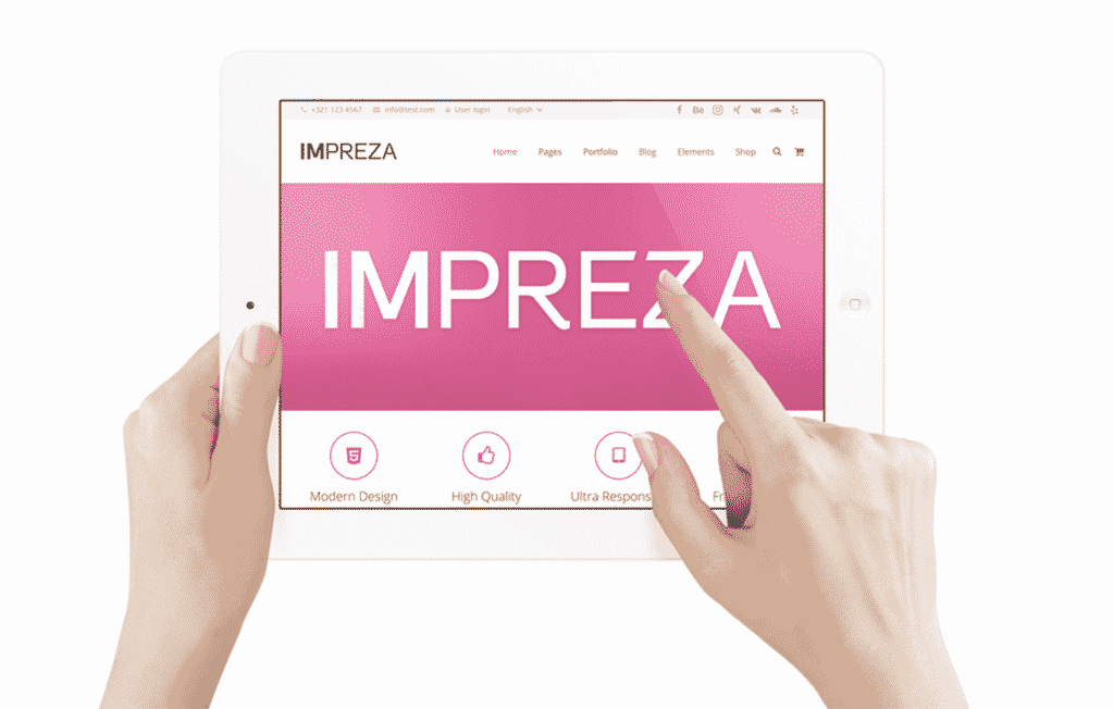 impreza tablet